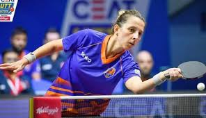 Eliza Samara and company arrived in France for European table tennis