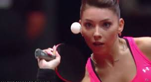 Elizabeta Samara, the best ranked table tennis player in Romania in the world top