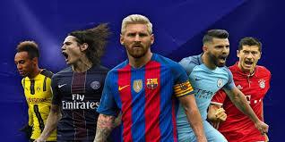 The classification of top European scorers
